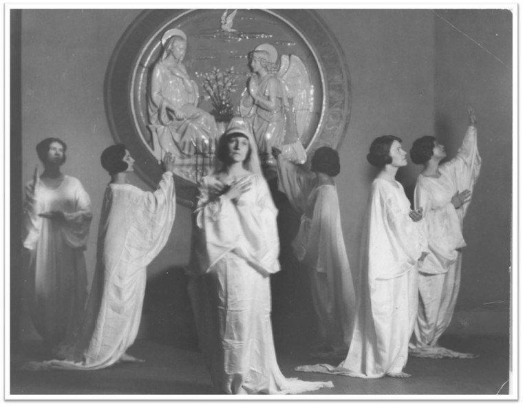 The Della Robbia Eurythmic Dance Ritual, c. 1923–32. Courtesy St. Mark's Church Archives