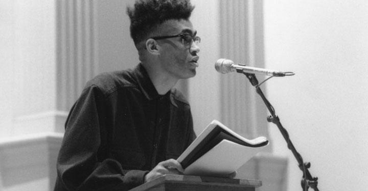 Thomas Sayers Ellis, 1995 - Photo Credit: Melissa Zexter