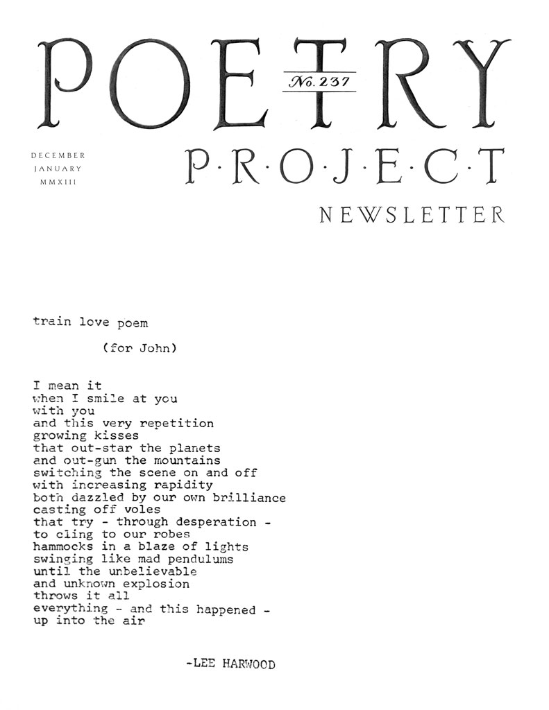 237 The Poetry Project - Poetry-cover-letter
