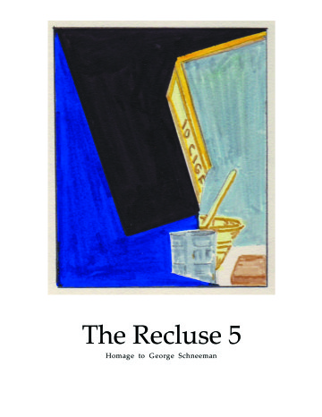 The Recluse No. 5