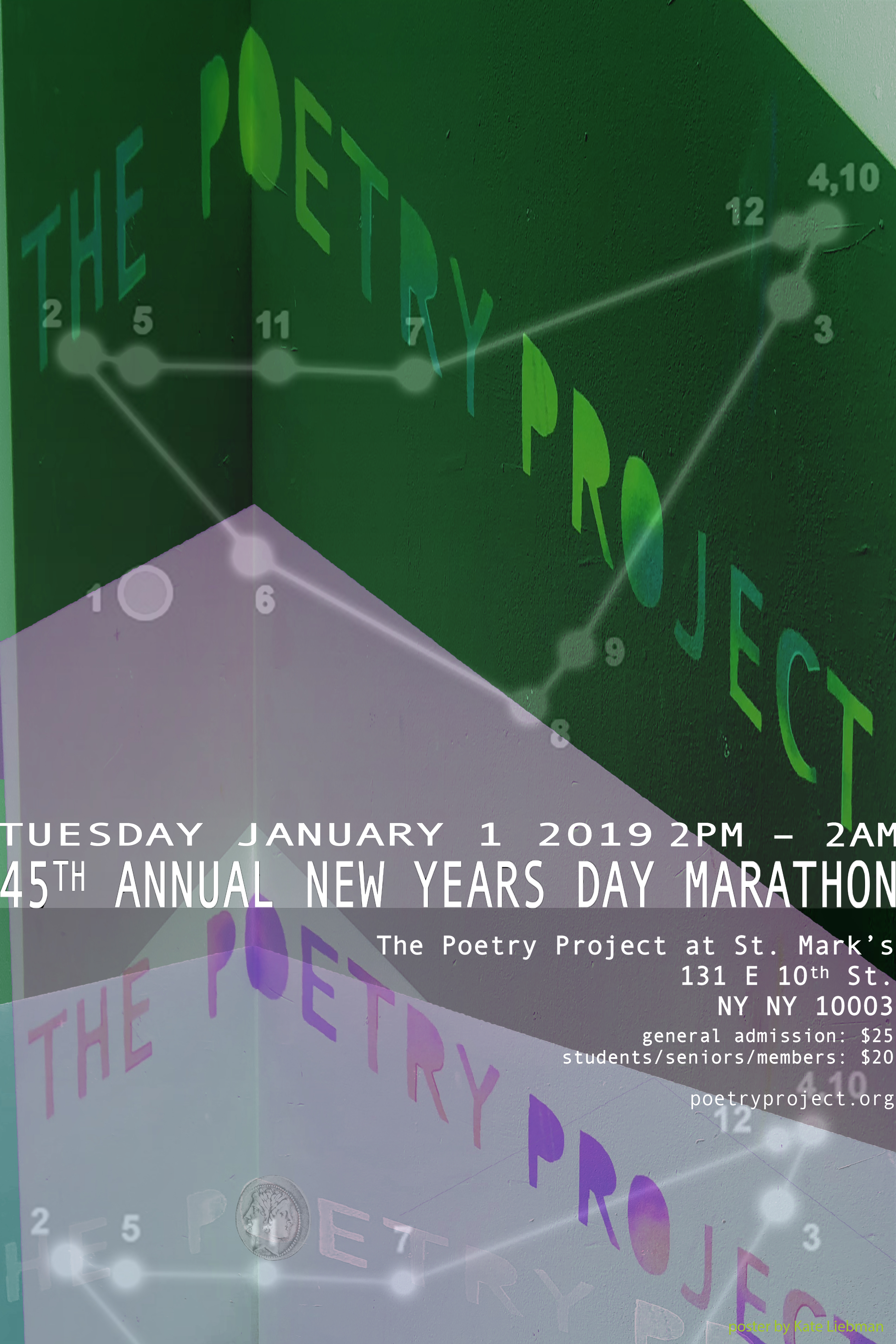 The 45th Annual New Year S Day Marathon Reading The Poetry Project