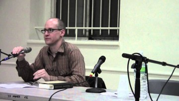Reading for the Collected Poems of Joseph Ceravolo — 4/17/13